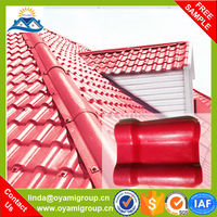 Soundproof strong fire resistance spanish project roofing tile