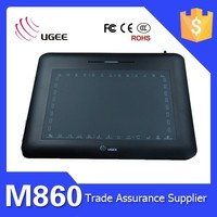 desktop writing pad Ugee M860 8x6 inch writing tablet pc