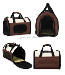 Foldable Fabric Pet Carrier Bag Traveling Dog Soft Crate pet