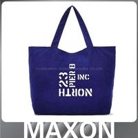 Guangzhou manufacturer!!Global Certificated Organic Cotton Bag cotton shopping bag