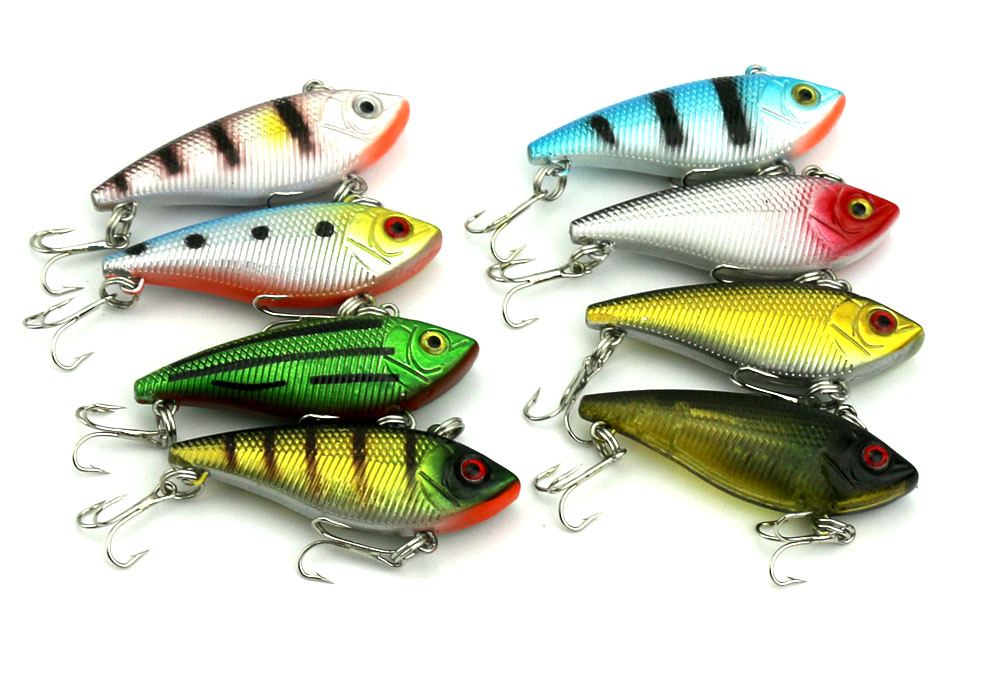 Wholesale chinese hard fishing lures minnoow type vib for Types of fishing lures