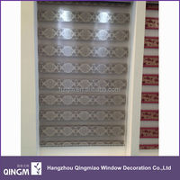 Durable Sunscreen Polyester Blinds Rainbow Colored Window Blinds
