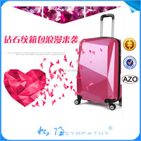 ABS+PC travel abs / polycarbonate trolley luggage