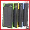 YASHI new product 8000mAh waterproof solar charger power bank in alibaba China