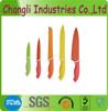 New Desgin Eco-Friendly Color Blade Non-stick Knife Set