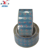Good Viscosity and Cheap Price BOPP Packing Tape Custom Printed LOGO Super Clear Sellotape