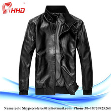 Fashion Fur Leather Garments With High Quality Men Leather Jacket