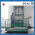 Trilho de guia de carga de transporte plataforma de elevação hidráulica