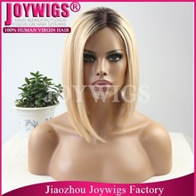 JOYWIGS Hot selling In Stock 150% Density Beyonce Style Front Lace Wig,100% Human Hair Wigs Fast Shipping