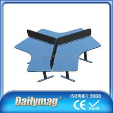Working Office Ergonomic Table for 3 Men