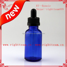 CHINA e-liquid smoke bottle juice amber dropper bottles square glass