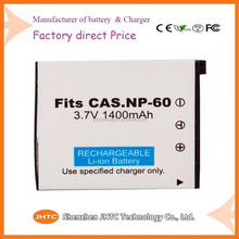 NP-60 NP60 3.7V 1400mAh Battery Pack for CASIO Exilim EX-S10,EX-S12,EX-Z9,EX-Z20,EX-Z21,EX-Z29,EX-Z80 EX-Z85 EX-Z90 EX-Z80VP