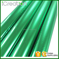 High quality Gold Siver Green stock cheap Chinese Hot Film for paper plastic fabric
