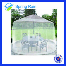 Outdoor Umbrella Table Screen Mosquito Net Canopy