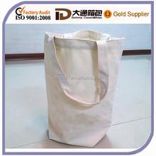 2015 High Quality Fashion Cotton Shopping Bag Canvas Cheap Wholesale Reusable Tote Beach Handbag Bag