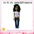 Negro tipo muñeca de la muchacha africana muñeca, plástico negro muñecas étnicas