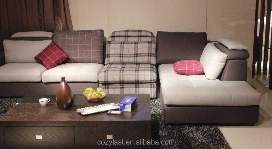 2014modern style the sitting room furniture fabric sofa
