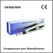 Painless acupuncture infrared pulse massage pen
