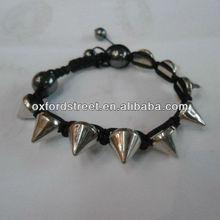 New style PU rivet bracelet