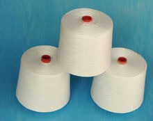 100% spun polyest yarn manufactur in china