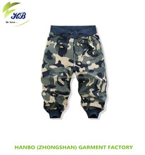Freeshipping 2015 new products military camouflage pattern hot sale low price men short cargo pants teen boys pants trousers