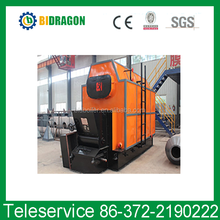 coal and biomass waste fired chain grate steam boiler