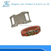 metal dog collar side release buckle,15mm safety curved buckle for dogs