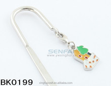 Brand new customized bookmark cartoon decoration with high quality