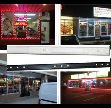 led hard strip for window, shop window, store, building edge led lighting