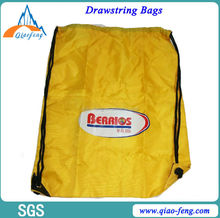 Polyester waterproof drawstring bags nylon drawstring bag 210d