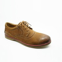 brogue oxfords style handmade flat platform outsole men hand made casual shoes custom shoe for sale from china