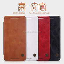 luxury stand mobile phone leather case for htc e9 plus wholesale