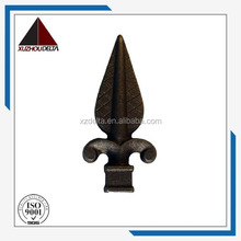 wrought iron gate /metal fence part/ good quality spearhead