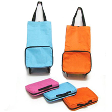 Good Quality and Best Price Folding Shopping Bags with Wheels