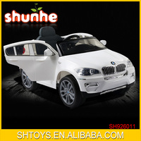 Luxury Licensed X6 Double Motors 4 Wheels Remote Control Big Kids Ride On Car