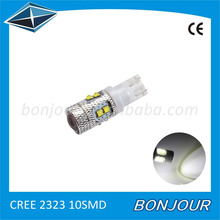 T10 194 w5w 2323 led super bright led light for car accessories