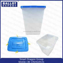 Custom-made pp corrugated plastic ballot box/voting box with seal