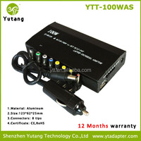 Manual Switch universal adapter 100W for laptop output 12-24v