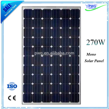 solar panel production line Chinese manufacturer supply mono solar panel 270w cheap price