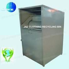Used Cloth Recycling containers with stainless steel lock