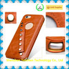 Ultra slim back leather mobile phone cover case for iphone6