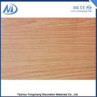 Excellent smoothness ACP wall cladding wood effect