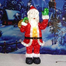 Outdoor LED Santa Claus for Christmas decoration