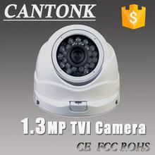 960P TVI Camera 1.3mp HD analog Vandalproof Night Vision HD Lens IR Ball camera