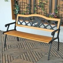 beautiful urban construction outdoor public utilities wpc mosaic garden bench