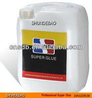 20kg/25kg drum bulk Instant Super Glue ethyl cyanoacrylate adhesive