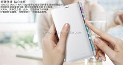 Top quality case For Samsung Galaxy Note 4 magnetic PU Leather slot wallet Cover Case HH-CPSN408(13)