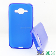 blue back cover for Samsung Galaxy J1, for Samsung Galaxy J1 back cover