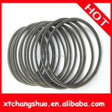 Rubber and PU Material Auto Parts double pin belt buckle with Good Quality men's slide buckle belt