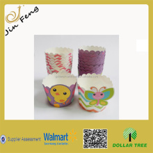 Hot Sale Easter Cupcake Kit PVC Box Set/DIY Colorful Cupcake/Muffin Cup